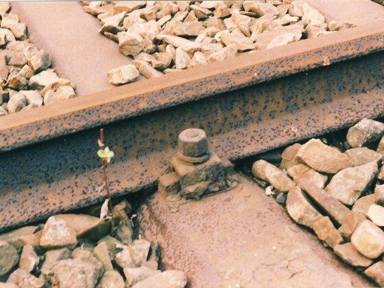 Stahlschwellen Reichsbahnoberbau K