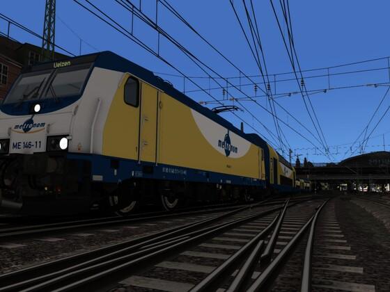"""146-11 auf dem Weg nach Uelzen - Szenario 1 """"Die letzte Fahrt"""""""