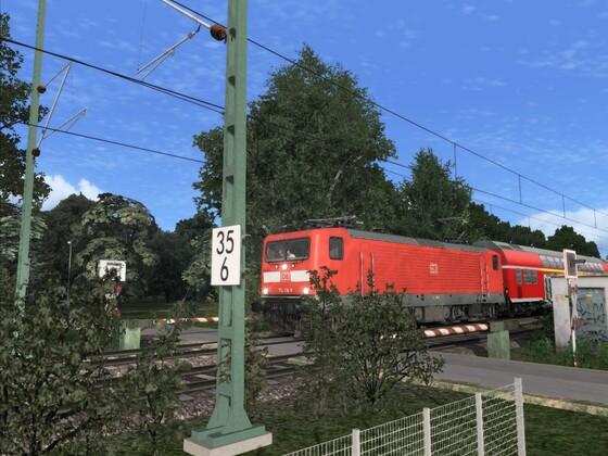 Neuer (vergessener) Bahnübergang