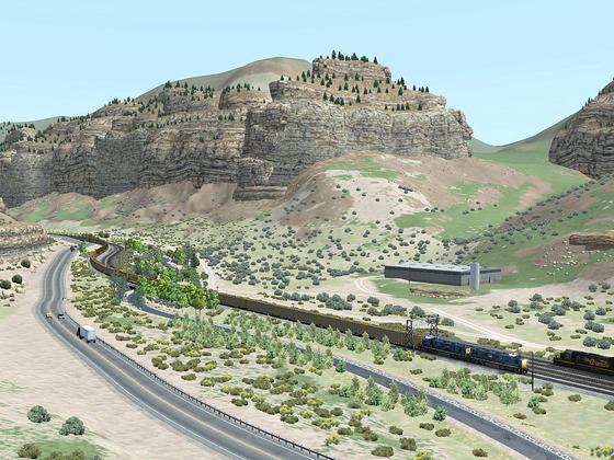 Soldier Summit Route - interessante Strecke mit seinen schönen und bizarre geformte Felsen