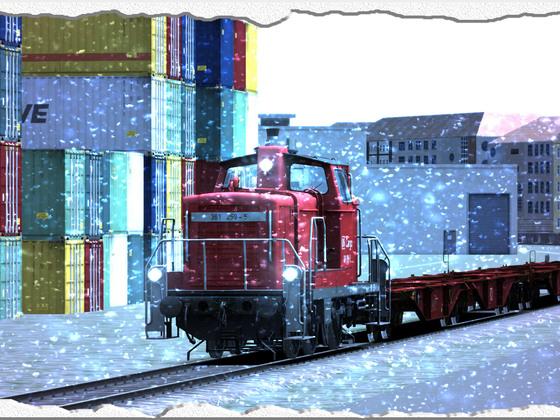 DB BR 361 im Winter :D