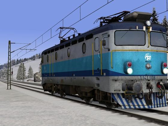Mit einer kroatischen Lok über die Seebergbahn