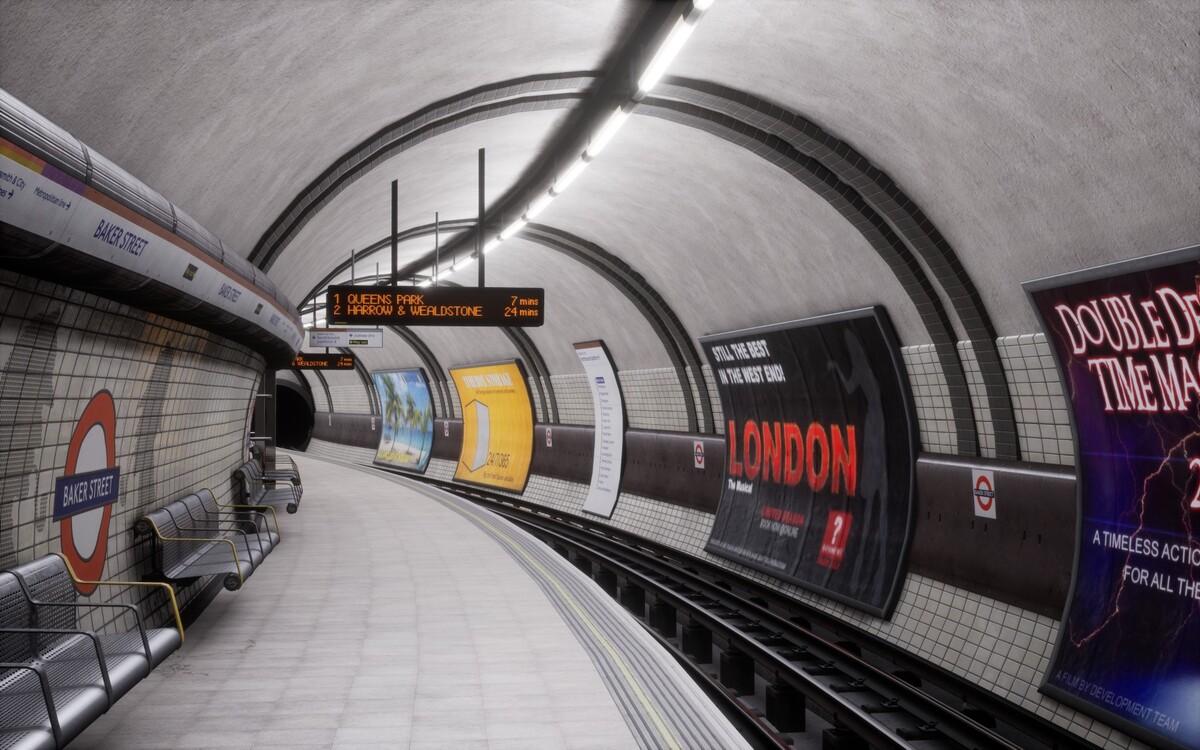 Bakerloo Strecke (13)