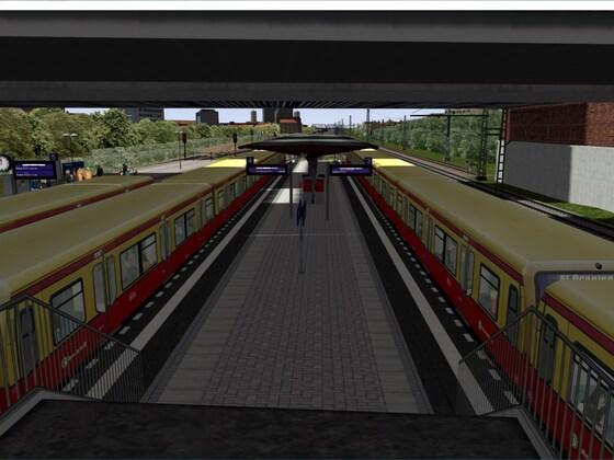 Auf der S5 , nach Strausberg