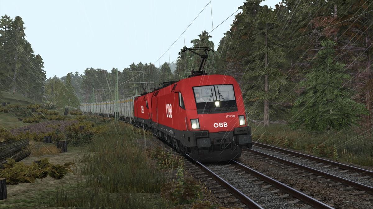 OeBB Güterzug auf dem Weg nach Altenburg