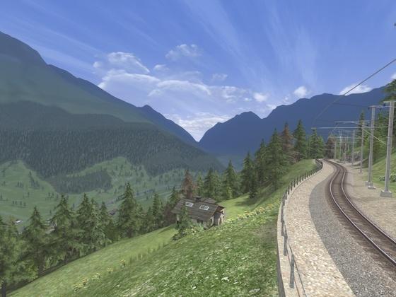 Ausfahrt Cadera 2 - Blick ins Tal
