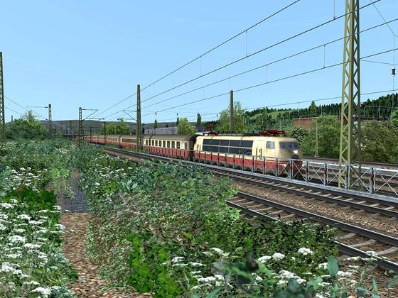 Das neue Repaint Pack von Versystem  zur vR BR103 EL und DTG BR103 Steam