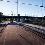 Bahnhof Hohenlimburg alter und neuer Bahnsteig Bild 1