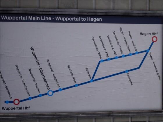 Streckenkarte Anfang