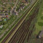 Basel Bad alte Gleisanlage
