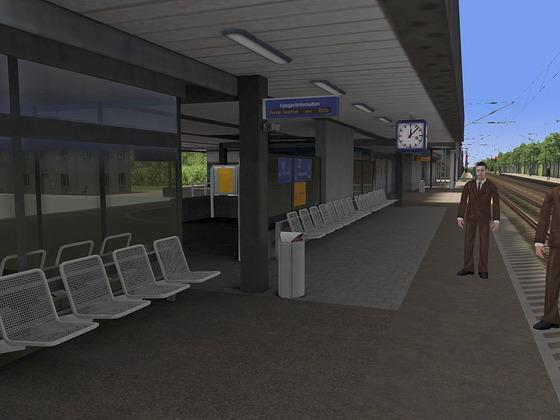 Bad Krozingen - Bahnhofsausstattung