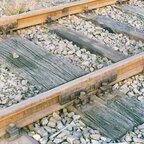 Doppelschwellen mit Schienenverbinder