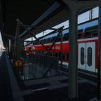 Bahnhof Letmathe Bild 2 - Inselbahnsteig