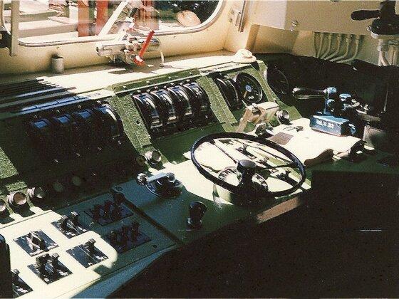 Fahrstand BR 151 von 1985