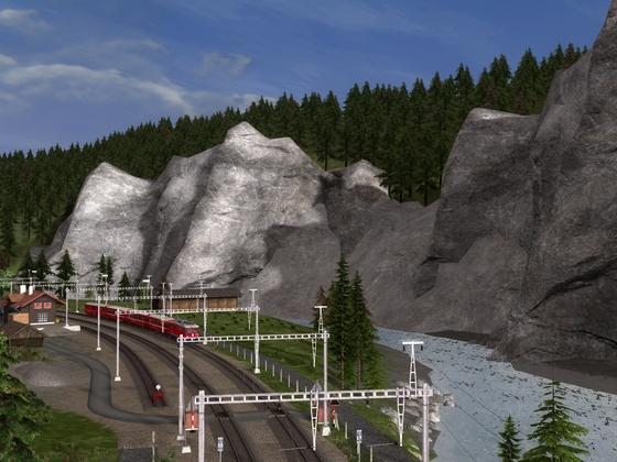 Bahnhof Trin (2)