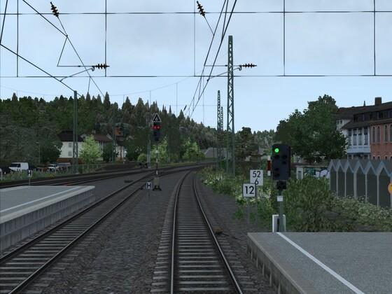 Remagen Ausfahrt in Richtung Brohl