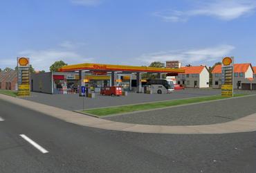 PR Shell Tankstellenset