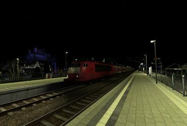 Mit der BR.103 als IC nach Altenburg Hbf