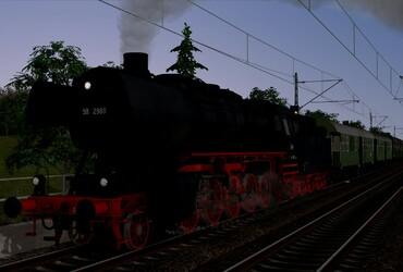 [50 2988] Dampfzug nach Regensburg