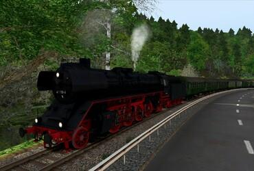 [41 1150] Dampfzug durch die Fränkische Schweiz