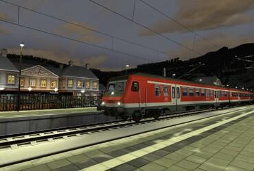 Regionalbahn nach Hoch Merzburg