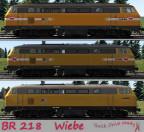 BR218_WIEBE_SKINS Railtraction BR218