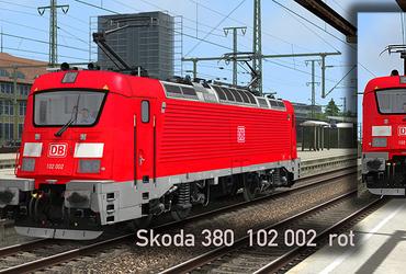 Skoda 380  120 002  ROT