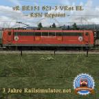"vR BR151 ""Railsimulator.net 3 Jahre"" Repaint"