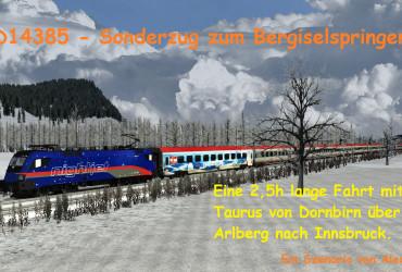 D 14385 Sonderzug zum Bergiselspringen Teil 2+3