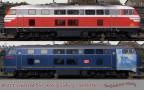 BR218_SONDEREDITION_SKINS Railtraction BR218